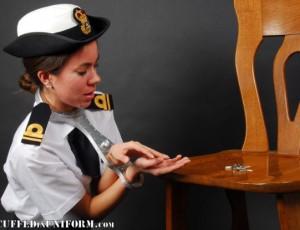 Lieutenant Faye in a Rigid Fiddle
